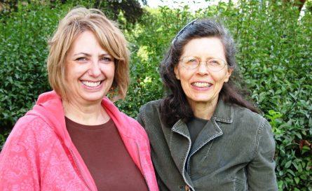 Kay and Carolyn
